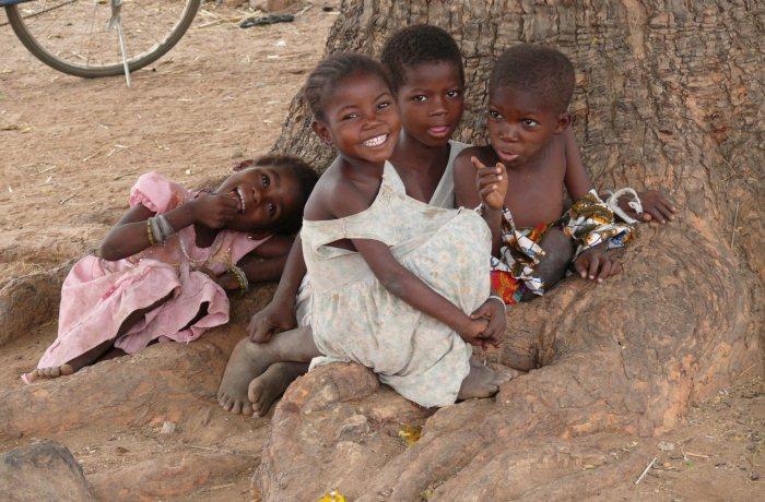 Sandra Speichert engagiert sich auch in Afrika für einen guten Zweck