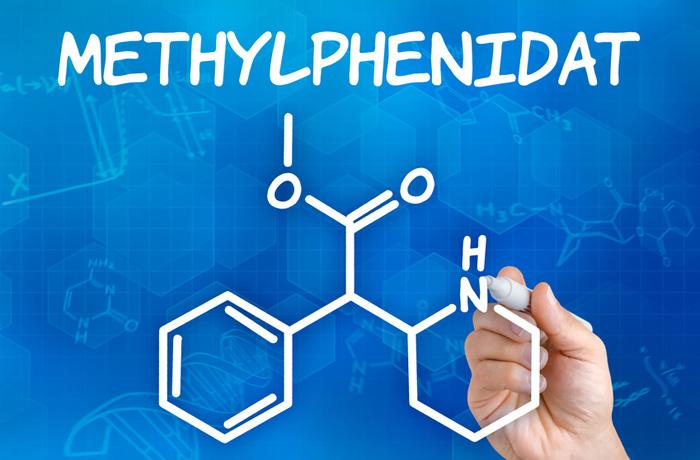 Chemische Verbindung Methylphenidat