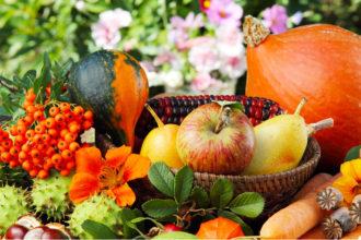 Mit dem Erntedankfest ist die Dankbarkeit für die reichliche Ernte und die Entlohnung für die schwere Arbeit während des Jahres verbunden.