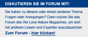 Forum des WE Love Nature Magazines