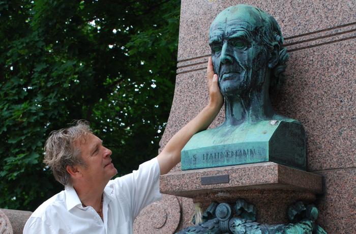 Andreas Jung war bereits in seiner Jugend von der Lehre Hahnemanns fasziniert