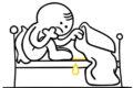 Ist ein Kind ein Bettnässer, liegt dies häufig daran, dass die Kontrolle über den Blasenschließmuskel noch nicht voll entwickelt ist. Bei einem Bettnässer entleert sich die Blase deshalb unbemerkt im Schlaf.