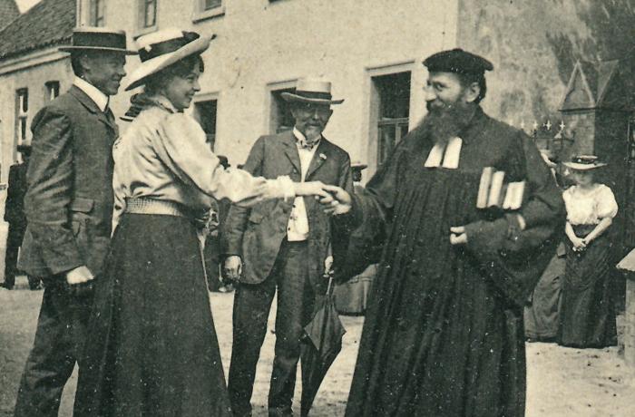 Emanuel Felke, ein Pionier der Homöopathie, behielt bei seinen Behandlungen stets den Menschen im Blick.