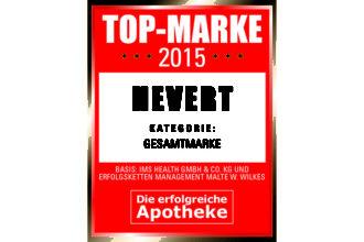 """Markenarbeit ist Wertearbeit – Hevert ist TOP-Marke 2015 in der Kategorie """"Gesamtmarke""""."""