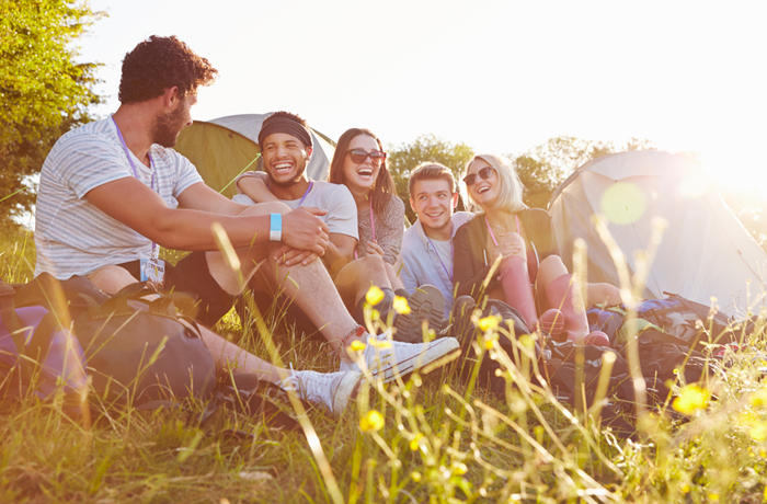 Camping ist gut für den Schlaf-Wach-Rhythmus
