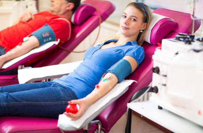 Blutspenden als eine moderne Form von Aderlass?