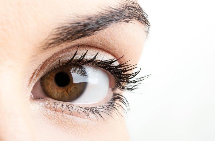 Ein Vitamin A-Mangel äußert sich anfangs durch eine Einschränkung des Sehfelds sowie zunehmende Nachtblindheit.