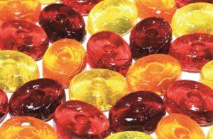 Sogar Diät-Bonbons sind nicht zwingend frei von Fructose.