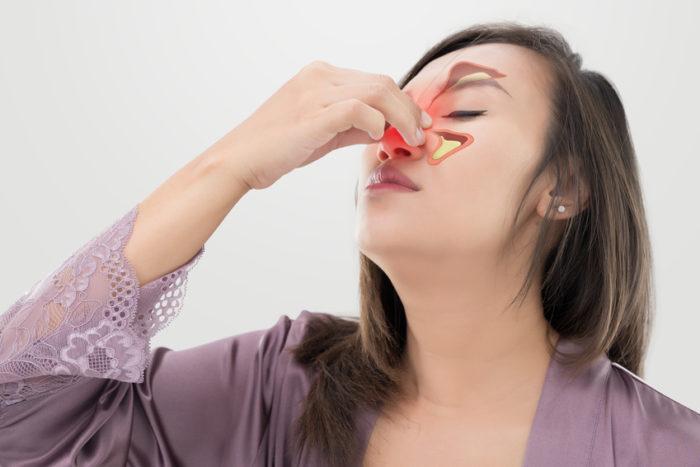 Eine Sinusitis betrifft am häufigsten die Kieferhöhle und die Siebbeinzellen. Seltener sind die Stirnhöhle und die Keilbeinhöhle betroffen.