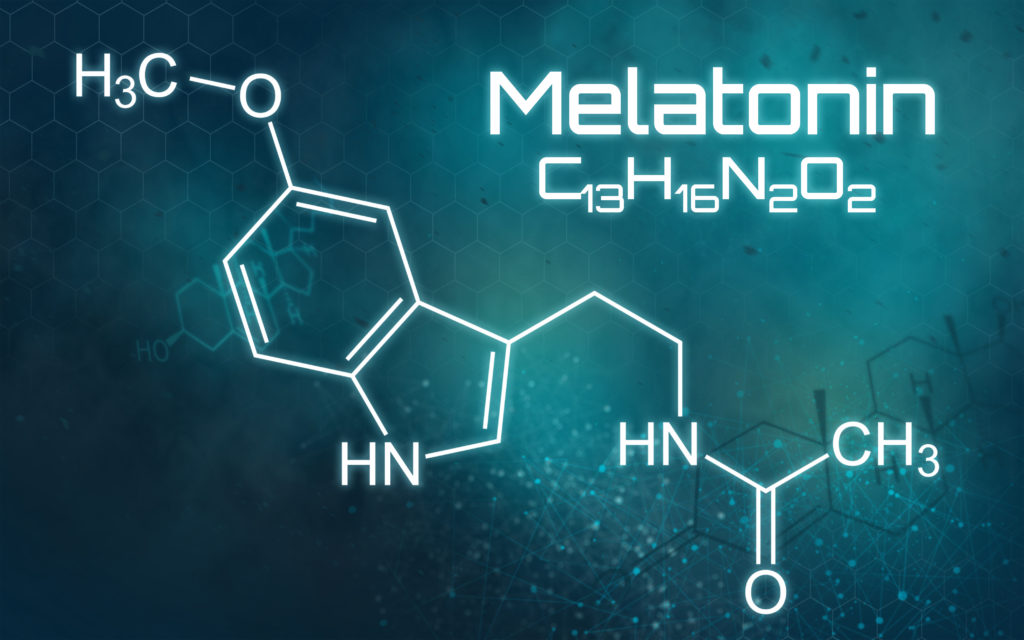 Botenstoff Melatonin
