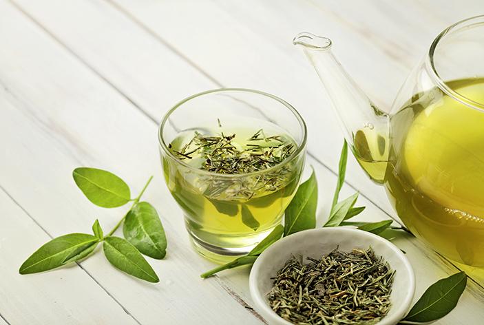 Grüner Tee kann den Blutdruck senken